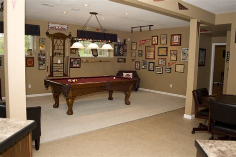 cardinals basement traditional basement st louis