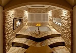 Wandgestaltung Mit Steinen : badezimmergestaltung ideen seien wir kreativ ~ Markanthonyermac.com Haus und Dekorationen