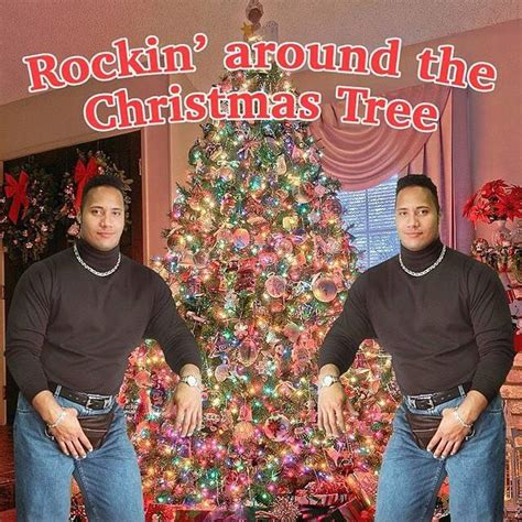 dwayne the rock johnson may have just won the festive