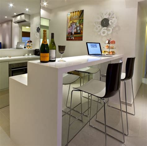 Home Bar Solutions by Mirror Enlarge The Small Bar Space Residence City View