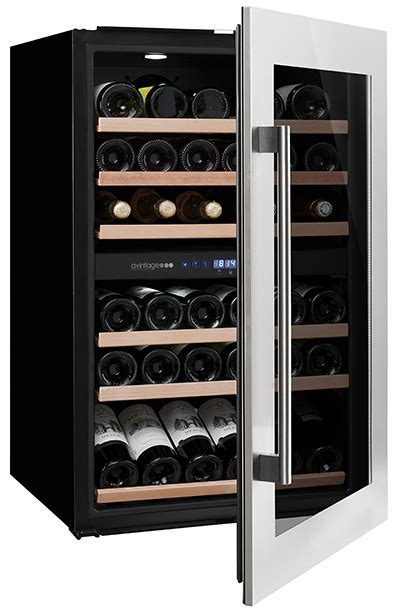 installing wine cooler in existing cabinet avintage premium integrated wine cooler av45xdzi 1 w