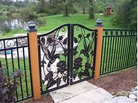 decorative fence panels Metal Fencing Decorative Fence Panels | Design & Ideas : The Best Decorative Metal Fence Panels