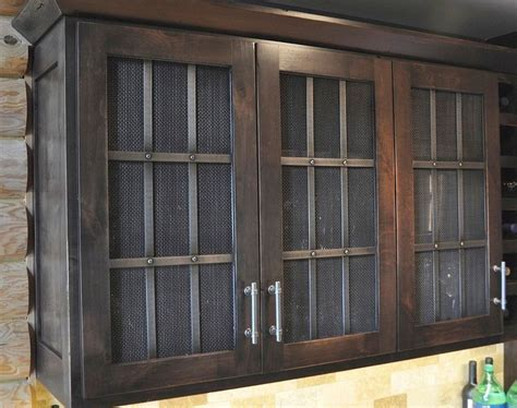 wire mesh kitchen cabinets cabinet wire mesh image gallery in kitchen design 1558