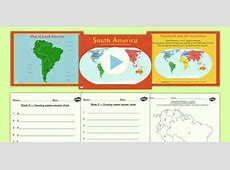 Introduction to South America Lesson Teaching Pack geography