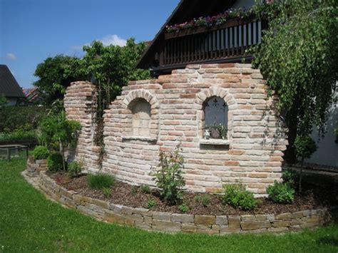 Steinmauer Als Sichtschutz by Bildergebnis F 252 R Steinmauer Als Sichtschutz Im Garten