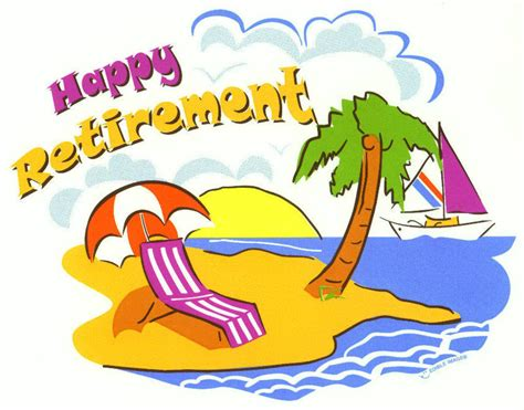 Happy Retirement Clip Art Free