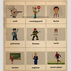 Jobs And Occupations Flashcards  Learn English,flashcards,vocabulary,english,occupations,job