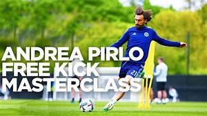 Andrea Pirlo Free Kick Masterclass   INSIDE TRAINING - YouTube