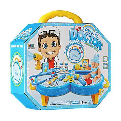 mainan doctor set jual momo my lovely doctor medecine table set mainan