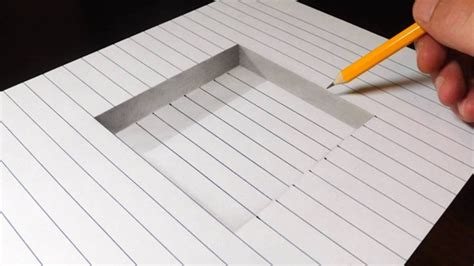 How To Draw A Step In Line Paper