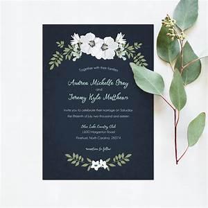 wedding invitation printable navy mint white wedding With wedding invitations 5