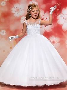 Angel Flower Girl Dresses Style F405 In Ivory Or White