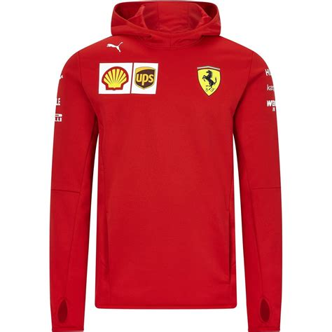 Wherever you are and whatever you're doing look and feel the part in this scuderia ferrari f1 team softshell jacket. Scuderia Ferrari F1 Men's 2020 Team Tech Fleece Red - CMC ...