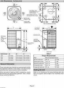 Lennox Air Conditioner  Heat Pump Outside Unit  Manual L0805442