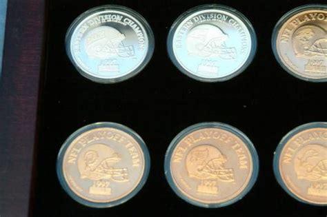Rare 1997 Super Bowl Xxxii Broncos Packers 15 Coin Set Ebay