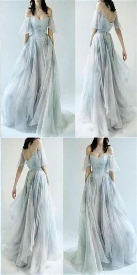 beautiful prom dresses   shoulder   print flowy