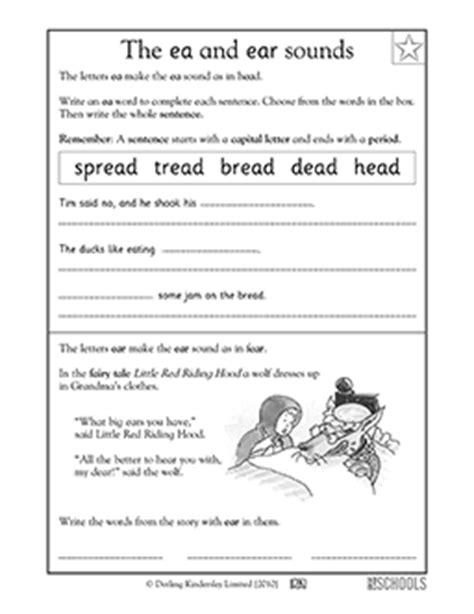 st grade kindergarten reading worksheets vowel sounds