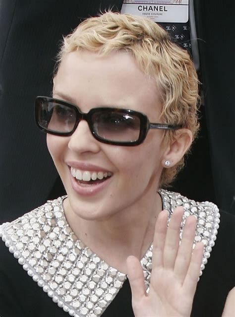 Bad Hair Day: Kylie Minogue: Still Looks Like Cancer