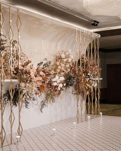 elemen elemen dasar  dibutuhkan dekorasi pernikahan