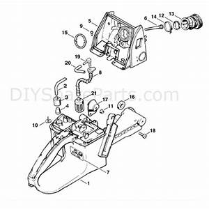 Stihl Ms 660 Chainsaw  Ms660  Parts Diagram  Tank Housing