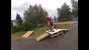 Homemade Bmx Ramps Part 1 Youtube