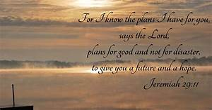 Choice I know the plans jeremiah 29 kjv ~ Woodworking By
