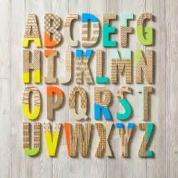 Interior Design Your Own Home Decorating With Wooden Letters
