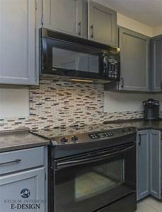 my kitchen painted cabinets oak to gray 2252