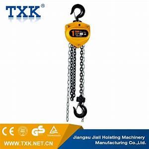 China Txk 1ton Chain Block  U0026 Manual Chain Hoist