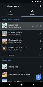 Google Clock adds Spotify for custom musical alarms ...