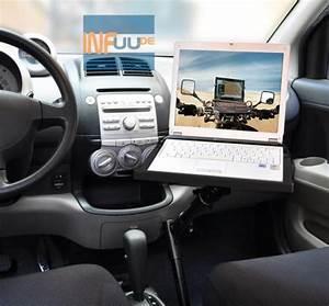 Laptop Halterung Auto : kfz pkw halterung f r notebook laptop 16 17 zoll auto lkw bus caravan automobil ebay ~ Eleganceandgraceweddings.com Haus und Dekorationen