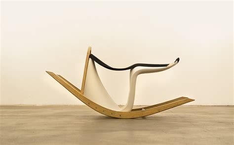 chaise a bascule design the rocking verner makes sitting a more