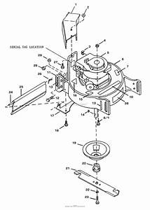 Bunton  Bobcat  Ryan 922100 21 U0026quot  Push Mower Parts Diagram