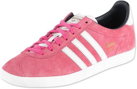 Adidas Gazelle Og W Shoes Pink White