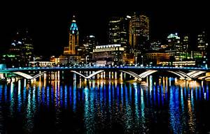 Columbus Christmas Lights by Good Night Columbus Photograph By Richard Marquardt