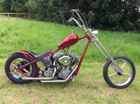 Harley Davidson Old School Custom Hard Tail Bobber Chopper