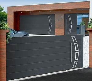 Portail De Garage Coulissant : portail roulant de garage ressort porte de garage sfrcegetel ~ Edinachiropracticcenter.com Idées de Décoration