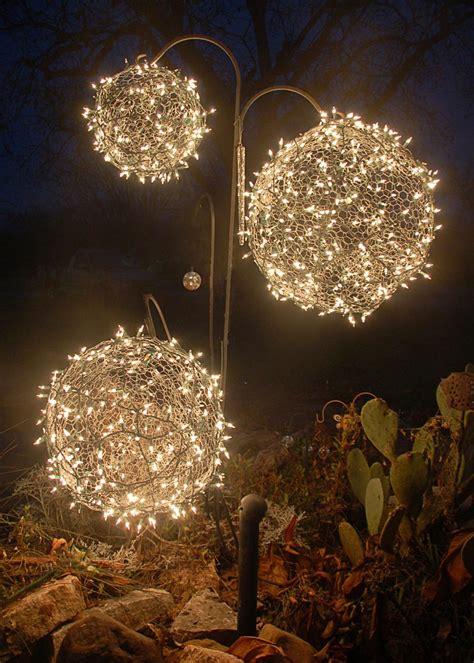 diy christmas light balls hgtv