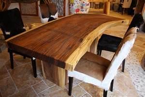 Baumstamm Tisch QuotSuarquot Lnge 200 210 Cm Der Tischonkel