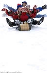 Christmas Sledding Hill