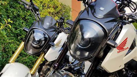 Honda Motorcycle Headlight Bulb Chart