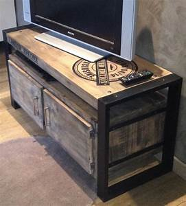 Best 25 Industrial Tv Stand Ideas On Pinterest Tv Table