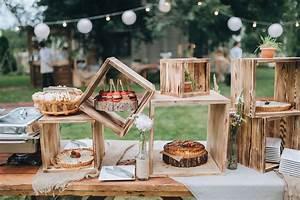 Dřevěné dekorace na svatbu