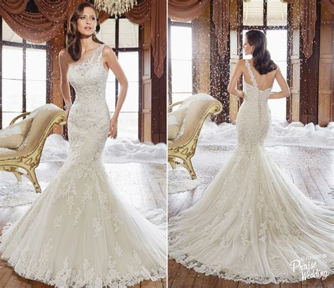 Wow This Elegant Sophia Tolli Fall 2015 Wedding Dress Is