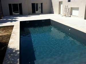finished pools colours newpool express With piscine liner gris fonce