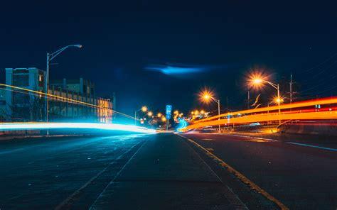 nq street light night city nature wallpaper