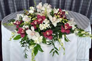 table center pieces superior florist event florals sweetheart tables