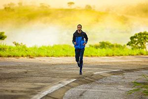 return to running after a knee injury mr
