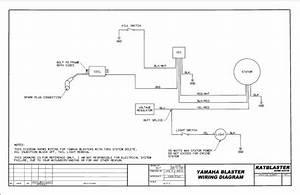 Yamaha Blaster Electrical Wiring