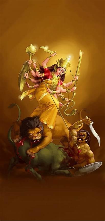 Durga Maa Navratri Mobile Wallpapers Iphone God
